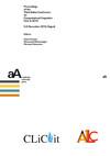 Proceedings of the Third Italian Conference on Computational Linguistics CLiC-it 2016