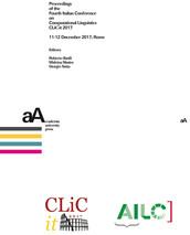 Proceedings of the Fourth Italian Conference on Computational Linguistics CLiC-it 2017