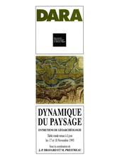 Dynamique du paysage