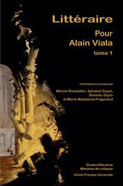 Biobibliographie d'Alain Viala