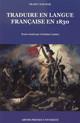 La traduction de la poésie grecque moderne dans l'anthologie des Poésies européennes de Léon Halévy (1830)