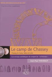 Chapitre I. Analyse géo-archéologique de la stratigraphie néolithique de la Redoute au camp de Chassey