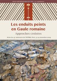 La découverte d'un nouvel ensemble peint au Quiou, dans la villa gallo-romaine de la Gare