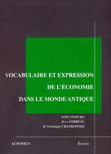Vocabulaire et expression de l'économie dans le monde antique