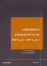 Céramiques antiques en Lycie (viie s. a.C. - viie s. p.C.)