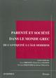 Représentations de la paternité et de la filiation en Grèce ancienne