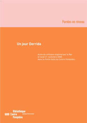 Un jour Derrida