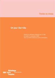 De cet animal qui vient à Derrida