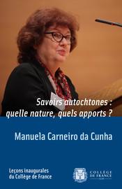 Présentation de Manuela Carneiro da Cunha