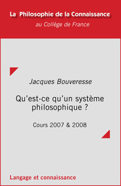 Cours3. Misère de l'éclectisme: est-il possible de réconcilier entre eux les systèmes philosophiques rivaux?