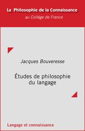 Études de philosophie du langage