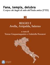 Fana, templa, delubra. Corpus dei luoghi di culto dell'Italia antica (FTD) - 2