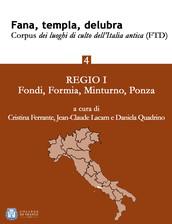 Fana, templa, delubra. Corpus dei luoghi di culto dell'Italia antica (FTD) - 4