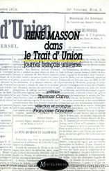 René Masson dans le Trait d'Union