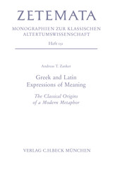 Greek and Latin. Expressions of Meaning