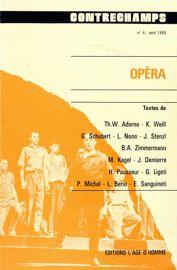 A propos de l'Opéra de quat'sous*