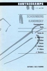 La rencontre Schoenberg — Kandinsky