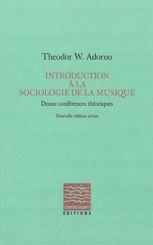 Introduction à la sociologie de la musique