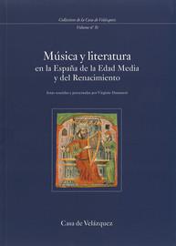 Música y literatura en la España de la Edad Media y del Renacimiento