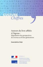 Auteurs du livre affiliés à l'Agessa: dégradation des perspectives de revenus au fil des générations