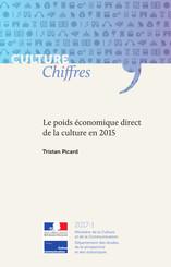 Le poids économique direct de la culture en 2015