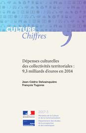 Dépenses culturelles des collectivités territoriales: 9,3 milliards d'euros en 2014