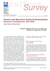 French and American Cultural participation