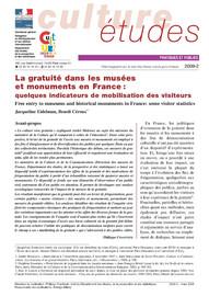 La gratuité dans les musées et monuments en FranceQuelques indicateurs de mobilisation des visiteurs