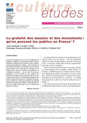La gratuité des musées et des monuments : qu'en pensent les publics en France ?