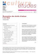 Économies des droits d'auteur - I