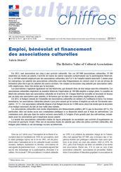 Emploi, bénévolat et financement des associations culturelles
