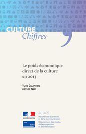 Annexes_Le poids économique direct de la culture en 2013