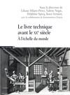 Le livre technique avant le xxe siècle