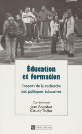 L'évolution des inégalités sociales dans le système éducatif français