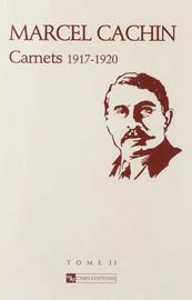 Carnets Marcel Cachin–année 1920