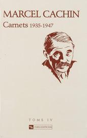 Carnets Cachin. Année 1937