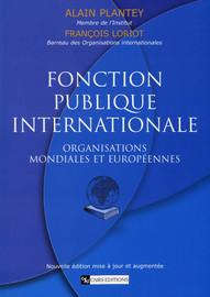 Fonction publique internationale