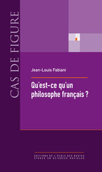 Qu'est-ce qu'un philosophe français ?