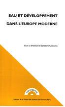 Eau et développement dans l'Europe moderne