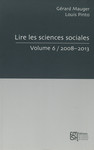 Lire les sciences sociales. Volume 6/2008-2013
