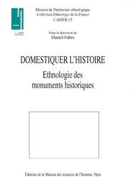L'ethnologie devant le monument historique