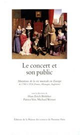 The musician as concert-promoter in London 1780-1850