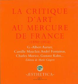 La Critique d'art au Mercure de France (1890-1914)