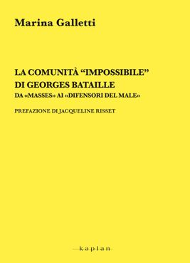 """La comunità """"impossibile"""" di Georges Bataille"""
