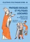 Pratiques sociales et politiques judiciaires dans les villes de l'Occident à la fin du Moyen Âge
