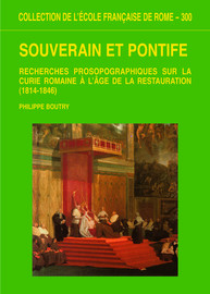 Officiers subalternes de la curie et consulteurs des congrégations romaines en fonctions sous la restauration (1814-1846) (notes brèves)