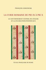 Chapitre 1. Réformes administratives et Révolution romaine (1846-1850)