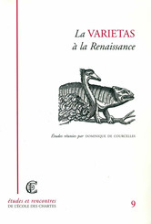 La varietas à la Renaissance