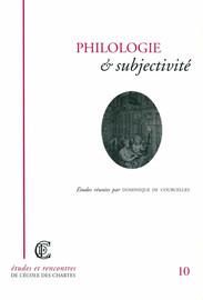Autonomie de la pensée et stratégie du moi philologique