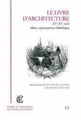 Le livre d'architecture, XVe-XXe siècle